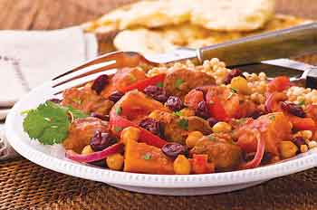 cherry and lamb tagine