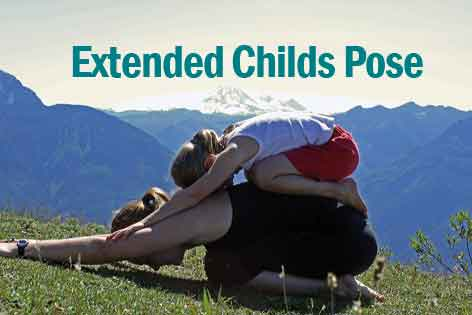 EXTENDED CHILDS POSE