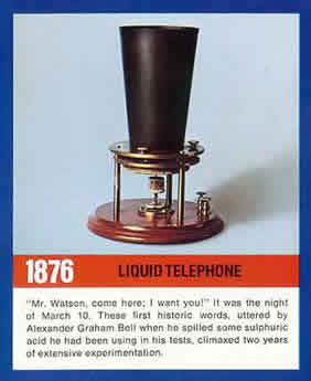 liquid telephone
