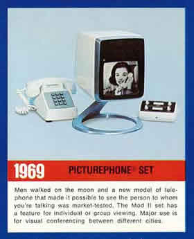 1969 picture phone