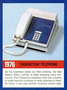 1976 transaction phone