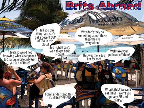 BRITS ABROAD