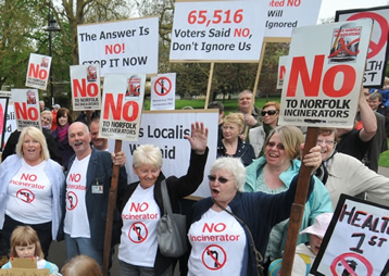 no incineration plant kings lynn