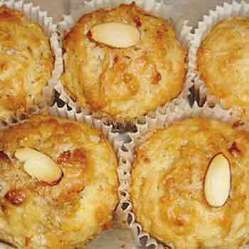 coconut almond muffins