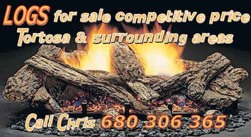 chris logs for sale