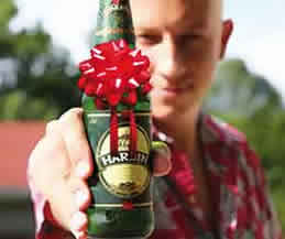 GIFT OF BEER