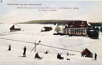 EARLIEST SKI LIFT